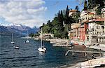 Varenna, lac de Côme, Lombardie, lacs italiens, Italie, Europe
