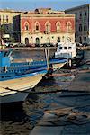 L'île d'Ortigia, Syracuse, Sicile, Italie, Méditerranée, Europe