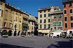 Piazza Mazzini, Chiavari, Liguria, Italy, Europe