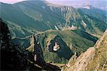 Téléphérique jusqu'au sommet du Puy de Sancy, Parc Naturel Régional des Volcans d'Auvergne, Puy-de-Dome, Auvergne, Massif Central, France, Europe