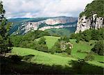 Combe Laval, Parc Naturel Régional du Vercors, Drome, vallée du Rhône, Rhone Alpes, Savoie, France, Europe