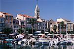 Harbour, Sanary-sur-Mer, Var, Cote d'Azur, Provence, France, Mediterranean, Europe
