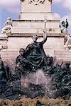 Monument aux Girondins, Bordeaux, Gironde, Aquitaine, France, Europe