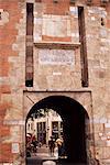 Porte d'entrée, Le Castillet, Perpignan Pyrénées-Orientale, Languedoc-Roussillon, France, Europe