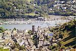 River Dart estuary, Dartmouth, South Hams, Devon, England, United Kingdom, Europe