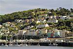 Fluss Dart-Mündung, Dartmouth, South Hams, Devon, England, Vereinigtes Königreich, Europa