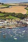 Hafen von Salcombe, South Hams, Devon, England, Vereinigtes Königreich, Europa