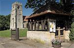 Lych gate, church of St. Nicholas, Henley in Arden, Warwickshire, Midlands, England, United Kingdom, Europe