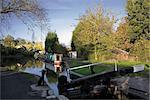 La jonction de Stratford et la Grand Union Canal, Kingswood Junction, Lapworth, Warwickshire, Midlands, Angleterre, Royaume-Uni, Europe
