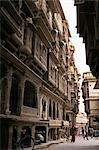 Patwan Ki haveli, marchand de maison construite en pierre calcaire, état de Jaisalmer, Rajasthan, Inde, Asie