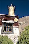Sérums monastère, Lhassa, Tibet, Chine, Asie