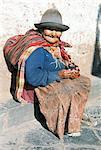 Résident local, Cuzco, Pérou, Amérique du Sud