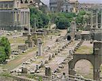 Forum Romanum, Rome, Lazio, Italie, Europe