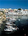 Es Castell Menorca (Minorque), îles Baléares, Espagne, Méditerranée, Europe