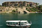 Old Cataract Hotel et Nil, Assouan, en Égypte, en Afrique du Nord, Afrique