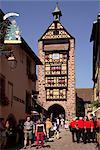 Haute Porte, Riquewihr, Alsace, France, Europe