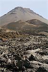 Pico and Lava, volcano, Fogo, Cape Verde Islands, Africa
