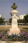 Îles de Albuquerque statue, Praia, Santiago, Cap-vert, Afrique