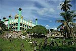 Kuching Mosque, Kuching, Sarawak, Malaysia, Southeast Asia, Asia
