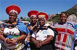 Mesdames zouloues, Cape Town, Afrique du Sud, Afrique