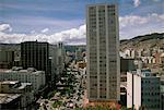 City view, La Paz, en Bolivie, en Amérique du Sud