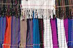 Textiles de la tribu Padaung, État Shan, au Myanmar (Birmanie), Asie