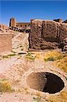 Bien à l'intérieur de la citadelle (Qala-i-Melias-ud-din), construit par Alexandre le grand, mais dans sa forme actuelle par Malik Fakhruddin dans 1305AD, Herat, Province d'Herat, Afghanistan, Asie