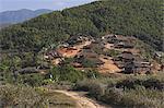 Wan Sai village (Aku tribe), Kengtung (Kyaing Tong), Shan state, Myanmar (Burma), Asia