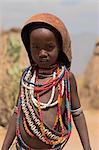 Ari girl, Lower Omo Valley, Ethiopia, Africa