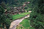 Village de FANPAI, Guizhou province, Chine, Asie