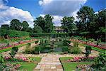 Jardin en contrebas, Kensington Gardens, Londres, Royaume-Uni, Europe