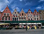 The Markt, Bruges, Belgium, Europe
