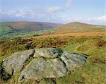 Widecome-à-la-lande, Dartmoor, Devon, Angleterre, RU