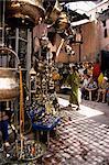 Handicraft souk, Marrakech, Morocco, North Africa, Africa