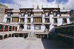 Drepung lamaserie (monastère), Tibet, Chine, Asie