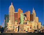 New York New York Hotel in Las Vegas, Nevada, United States of America, North America