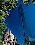 John Hancock Tower, Boston, Massachussetts, United States of America, North America