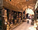 Khan-el-Khalili Bazaar, Cario, Egypt, North Africa, Africa