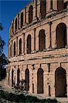 Roman amphitheatre, El Djem, UNESCO World Heritage Site, Tunisia, North Africa, Africa