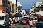 Scène de rue, St-Pierre, la réunion, océan Indien, Afrique