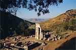 Delphi, sanctuaire d'Athéna, Grèce, Europe
