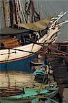 Le Vieux-Port, (Sunda Kelapa), Jakarta, Java, en Indonésie, l'Asie du sud-est, Asie