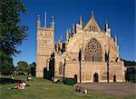 Kathedrale Exeter in Exeter, Devon, England, Vereinigtes Königreich, Europa