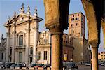 Duomo, Mantua, Lombardy, Italy, Europe
