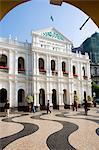 Senate Square (Largo de Senado), Macau, China, Asia