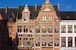 The Markt square, Bruges, Belgium, Europe