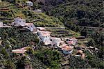 The hillside village of Masca, Tenerife, Canary Islands, Spain, Europe