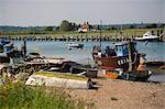 Port de seigle, seigle, rivière Rother, côte de l'East Sussex, Angleterre, Royaume-Uni, Europe