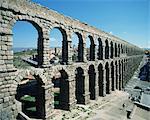 Aqueduc romain, Segovia, patrimoine mondial de l'UNESCO, Castille-Leon, Espagne, Europe
