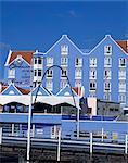 Waterfront hotel and casino, Willemstad, patrimoine mondial de l'UNESCO, Curaçao, Antilles néerlandaises, Antilles, des Caraïbes, l'Amérique centrale